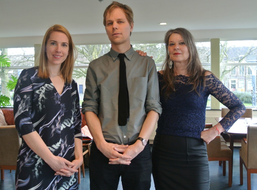 AICA Oorkonde jury 2016: Mirthe Berentsen, Stefan Kuiper, Marina de Vries. Foto: Stefanie Smulders